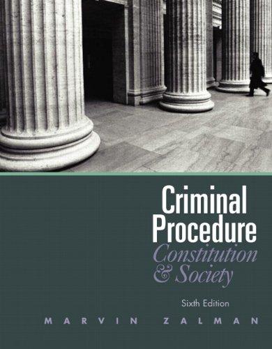 Criminal Procedure (6th Edition)
