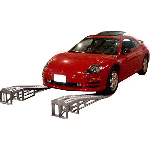 66' Low Profile Sports Car Lift Service Ramps