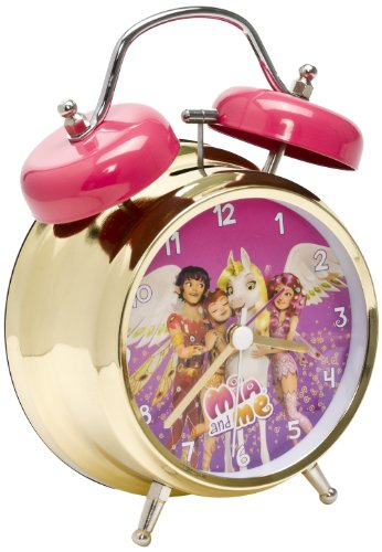 Mia and Me & Friends Wecker groß aus Metall 24 cm in Geschenkpackung Mehrfarbig 118080