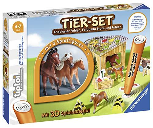Ravensburger tiptoi dierenset Falabella spel, vanaf 4 jaar, interactieve dierset Falabella met drie Ravensburger tiptoi dieren