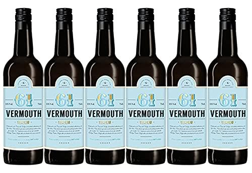 61 Sesenta y Uno Vermouth Verdejo - 6 Botellas de 750 ml (Total 4,5 L)