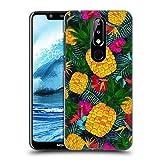 Head Case Designs Officiel Suzan Lind Ananas Tropical Couleurs & Motifs Coque Dure pour l'arrière...