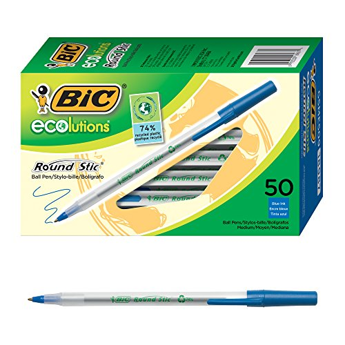 PEN,ECO RND STICK,50PK,BE