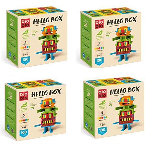BIOBLO HELLO BOX SET - 4x 100 BIO BLO STEINE - NEU