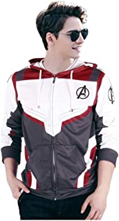 Superhero Cosplay Hoodie Quantum Hoodies 3D Printed Costume Zip Up Sweatshirt