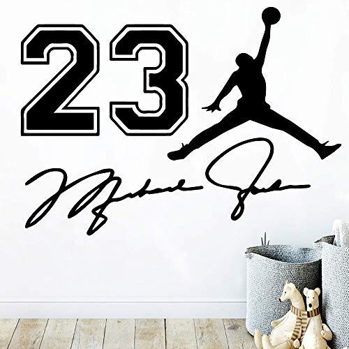 Ajcwhml Cartoon Basketball Vinyl wandaufkleber Dekoration für Schlafzimmer Kinder Applique für raumdekoration Aufkleber wandaufkleber