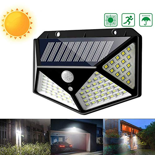 CKQ-KQ Buitenverlichting 114 LED Outdoor Solar Power PIR bewegingssensor wandlamp Waterdichte Garden Lamp waterdichte Lamp