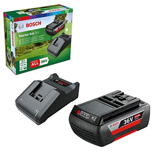 Bosch Starter Set 36 V (1 batería 36 V 2,0 Ah, cargador AL 36 V-20, en caja de cartón)