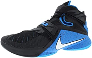 Nike Zoom Soldier IX, Black/White/Soar, 11.5 M US