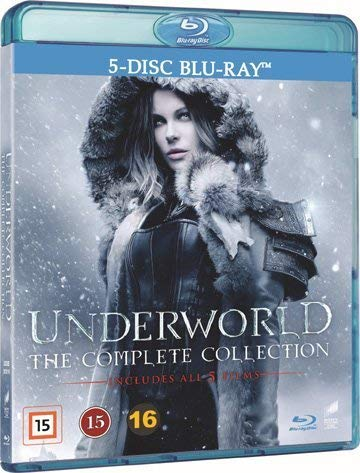 Underworld: The Complete Collection - 5-Disc Set ( Underworld / Underworld Awakening / Underworld: Rise of the Lycans / Underworld: Evolution / Underworld: Bloo [ Schwedische Import ] (Blu-Ray)