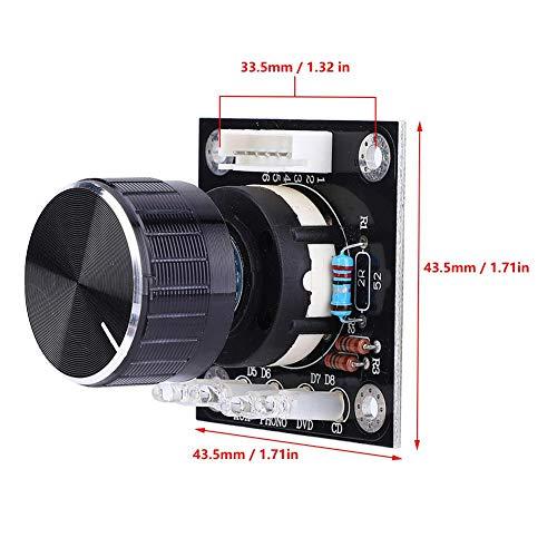 Sélecteur audio, sélecteur audio fiable à deux canaux à 4 voies, sélection de source Audio Home Audio de 1,6 mm d'épaisseur pour l'industrie