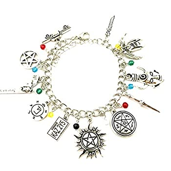 Universe of Fandoms TV Movies Show Original Design Quality Anime Cosplay Jewelry Cartoons Supernatural Charm Bracelet Gifts for Women