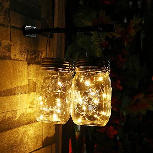EMVANV ext/érieur Solaire pour pelouse Jardin lumi/ère Jardin lumi/ère Solaire Faible consommation Lampe de Projection Solaire Solaire Rotatif color/é LED Lampe de lumi/ère lenvironnement