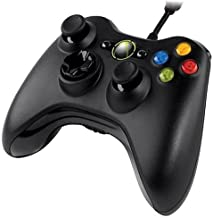 Xbox 360 Wired Controller, USB, Black,