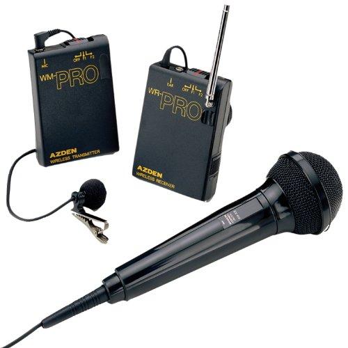 of vidpro wireless mics Azden WMS-PRO Wireless Microphone System