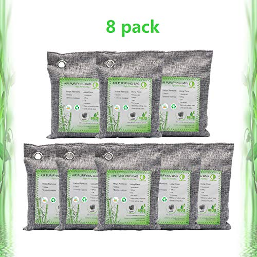 Activated Bamboo Charcoal Bags Air Purifying Bags Natural Air Purifier Freshener Neutralizer Filter...