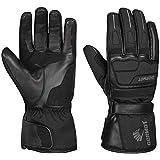 Germot Winter-Handschuh Barrow, Leder, Motorrad-Handschuh, atmungsaktiv, schwarz, Gr. 11