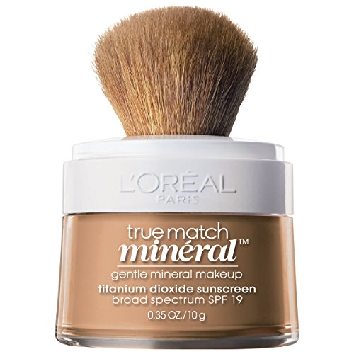 LOreal Paris True Match Mineral Loose Powder Foundation, Creamy Natural, 0.35oz