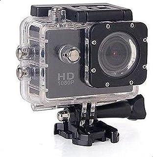 كاميرا سبورت اكشن دايفينج Full HD دي في ار 30متر مقاومة للماء 1080 بكسل بمستشعر جي