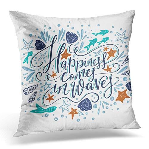 Awowee Housse de Coussin 45 x 45 cm - Motif Papillon Jaune - Fleurs et Papillons colorés - Décoration de Jardin - pour lit ou canapé, Polyester, Couleur 3, 18\