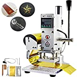 VEVOR Hot Foil Stamping Machine 10 x 13cm Upgraded Leather Bronzing Machine with Full Scale Card Foil Logo Embossing Machine for for PVC Leather PU Paper Logo Embossing