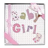 Forum Novelties CP82145 4' x 6' Baby Girl Photo Album Party Supplies