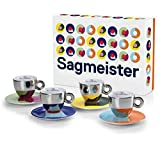illy Art Collection Stefan Sagmeister - Set da 4 tazze da cappuccino