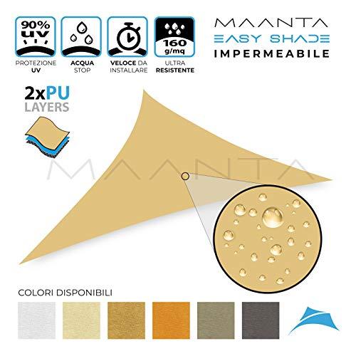 Maanta EasyShade 2.0 - Cortina de Vela, Color Beige