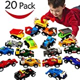 EUTOYZ Gifts for 2-6 Year Old Boys Girls,Toy Cars for 2-6 Year Boys Girls Toy Cars for Kids Toddlers Pull Back Car Toys Boys Fun Cool Toys for 2-6 Year Old Christmas Xmas Stocking Stuffers Fillers