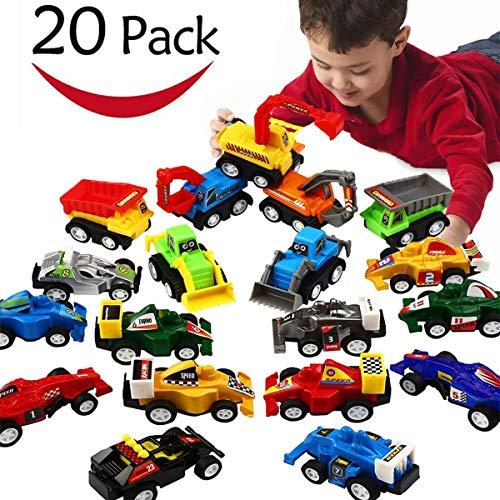 EUTOYZ Geschenke für Jungen ab 2-6 Jahre Junge Spielzeug, Spielzeugautos ab 2-6 Jahren Spielzeugautos für Kinder Kleinkinder Spielzeug für Jungen 2-6 Jahre Geburtstagsgeschenk für Jungen 2-6 Jahre