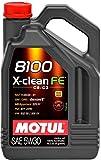 Motul NON APPLICABLE motoröle 8100 X-clean FE 5W30 C2/C3 5 L