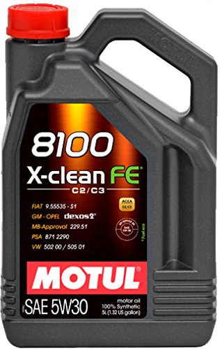 Motul - Aceite 8100 x-Clean fe 5w30 (acea c2/c3) 5l