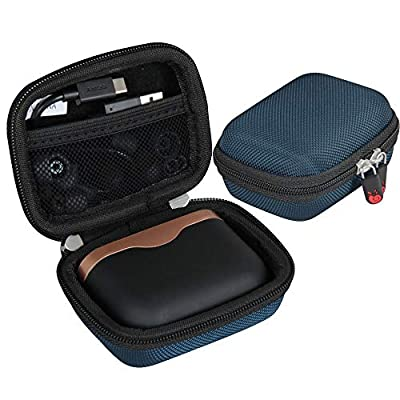 Hermitshell Hard Travel Case for Sony WF-1000XM3 Truly Wireless Noise Cancelling Headphones (Blue) by Hermitshell