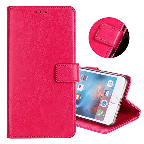ZYQ Rose PU Leder Tasche Schutz TPU Silikon Gel Hülle Für Lenovo A5000 Handy Flip Brieftasche Hülle Cover Etui Klapphülle Handytasche