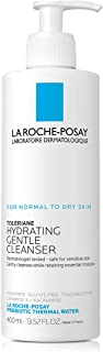 La Roche-Posay Toleriane Hydrating Gentle Face Wash Cleanser for Normal To Dry Sensitive Skin, 400ml