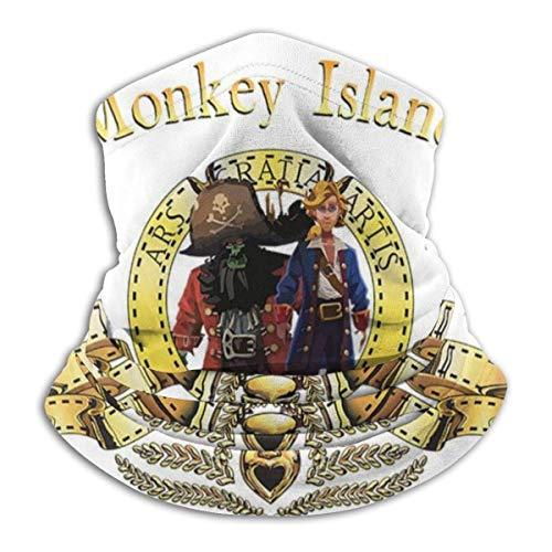 Monkey Island Metro Goldwyn Mayer Lion Unisex Multifuncional Headwear Bandana Face Cover UV/Dust Protection Reutilizable Lavable Transpirable Pasamontañas