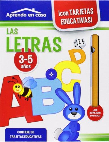 APRENDO EN CASA LAS LETRAS (3-5 años)