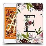 Head Case Designs Officiel Nature Magick Lettre E Rose Gold Flowers Monogram 1 Coque en Gel Doux...