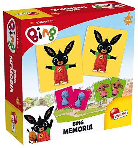 Bing 74693 Memoria Puzzle, Multicolore