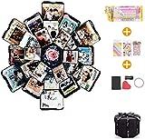 EKKONG Kreative Überraschung Box Explosions-Box DIY Faltendes Fotoalbum,Geschenkbox mit 6...