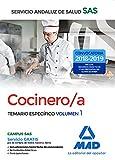 Cocinero/a del Servicio Andaluz de Salud. Temario específico  volumen 1
