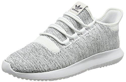 adidas Tubular Shadow Knit, Zapatillas de Entrenamiento Hombre, Blanco (FTWR White/FTWR White/Core Black), 42 EU
