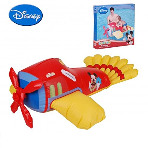 DC Avion Mickey chevauchable Gonflable bouee 2 Poignee - 117x79x36cm - 172
