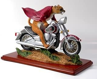 Ridgewood Collectibles Washington State Wild Thang Football Basketball Mascot on Motorcycle Figure