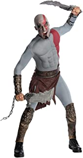 God of War Adult Kratos Muscle Chest Costume with Gauntlets