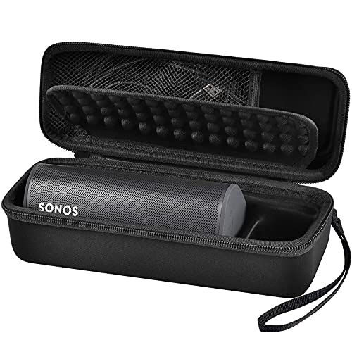 Tasche für Sonos Roam Wasserdichter WLAN und Bluetooth Lautsprecher -Schwarz