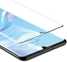 RAEGR SHIELD by ESR Full Coverage Huawei P30 Pro Tempered Glass Screen Protector/Screen Guard Compatible with Huawei P30 Pro - Black RG20150