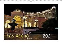 LAS VEGAS - by night (Wandkalender 2022 DIN A3 quer): Tauchen Sie ein in das naechtliche Las Vegas. Lassen Sie sich von den Bildern des Kalenders in das quirlige Nachtleben von Las Vegas entfuehren. (Monatskalender, 14 Seiten )