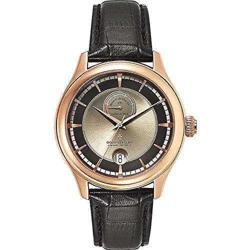 Dreyfuss & Co Watches DGS00113/04 - Reloj para Hombres, Correa de Cuero