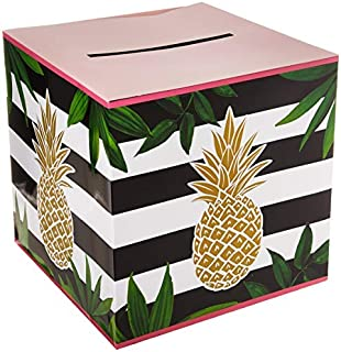 Creative Converting Golden Pineapple Noise Maker, 12x12x12in, Multicolor